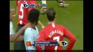 30.11.08 Манчестър Сити - Манчестър Юнайтед 0:1 Червения Картон на Роналдо