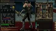 Героят ми на Dekaron Eu Azure Knight