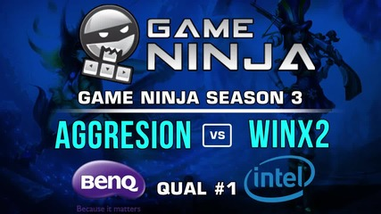 Game Ninja LoL #1 - Agresion vs WINx2