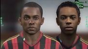 Fifa 14 vs Pes 14 Двубоят между лицата на Милан