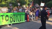 USA: Pro-Palestine activists march on NY Governor's house over Israel boycott ban