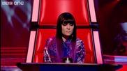 Момиче с удивителен талант в The Voice U K !