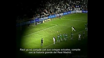 Raul Gonzalez Blanco - El Capitan del Madrid