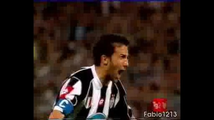 Juventus : Real Madrid - {Del Piero Gol}