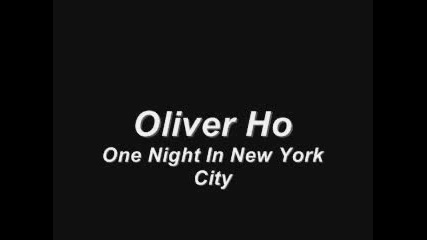 Oliver - One Night In New York City
