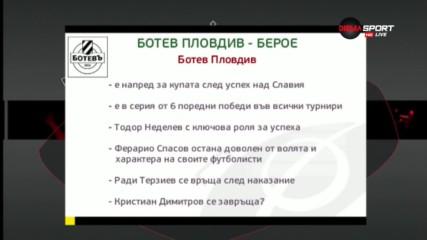 Преди Ботев Пд - Берое