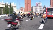 Spain: Thousands join pro-secession motorcycle rally in Catalonia