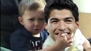 Suarez захапа моето пръсче !