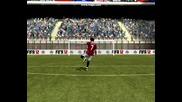 Fifa 12 - Неспасяем гол на Alexandre Pato
