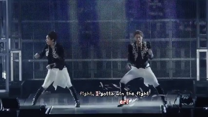 Tohoshinki 東方神起 duo - Champion Tree Tour [eng + romaji + 日本語 + karaoke sub]
