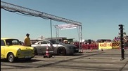 Nissan Gtr R35 580hp vs. Trabant Turbo 3.0t - 1-4 Mile - Race at Airport 20.05.2012