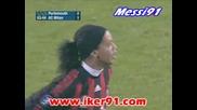 27.11 Портсмут - Милан 2:2 Роналдиньо гол