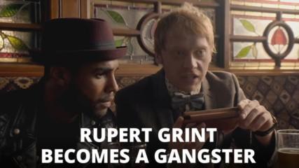 Rupert Grint stars in the first trailer for Snatch