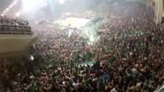 Уникалните фенове на Панатинайкос - Gate 13 ultras - Green invasion
