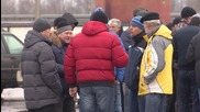 Russia: Truckers protest 'Platon' payment system on highway near Volgograd