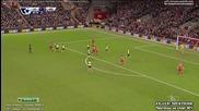Liverpool 2:2 Arsenal (21.12.2014)