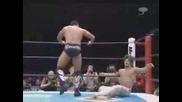 NJPW Hiroshi Tanahashi vs. Yuji Nagata