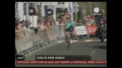 Алексендър Винокуров с първа етапна победа за годината