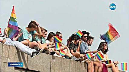 Петима бяха задържани след гей парада в София
