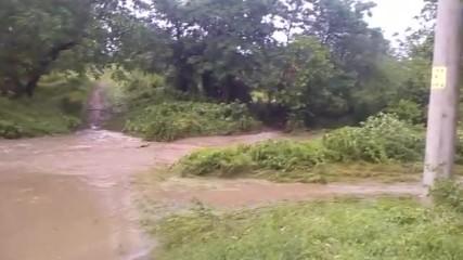 Следите от ураганната буря