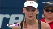 Toronto 2015 Simona Halep vs Agnieszka Radwanska Set-2