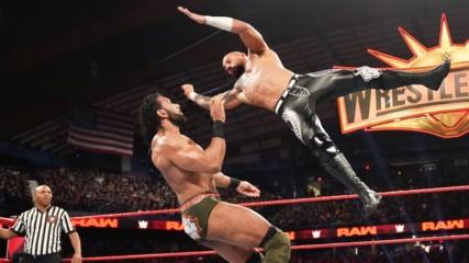 Ricochet vs. Jinder Mahal: Raw, March 18, 2019