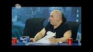 Иван като травестит в Music Idol 3