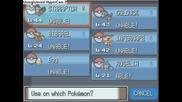 Pokemon Platinum - Roselia evelving in to Roserade