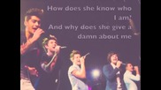 One Direction - Teenage Dirtbag Lyrics