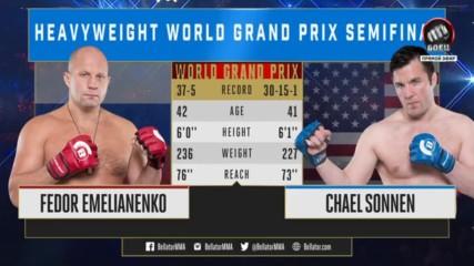 Фьодор Емеляненко срещу Чаел Сонен Bellator 208 Fedor Emelianenko vs Chael Sonnen 13.10.2018