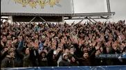 Сините на дербито 08.03.2014 (ultras Levski at the derby)
