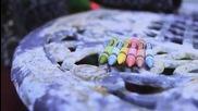 Как да си направим цветни ароматизирани свещи от моливи
