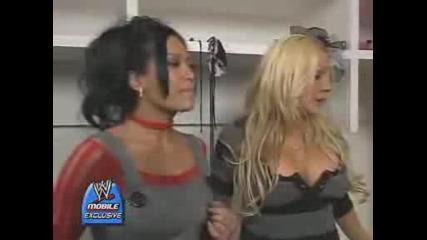 Melina & Jillian Backstage (smqh)