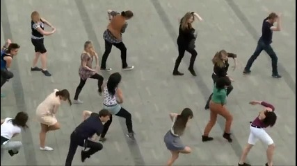 уличен танц - Краков Полша