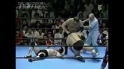 Kenta Kobashi & Jumbo Tsuruta vs. Stan Hansen & Gen'ichiro Tenyru (7/15/1989)