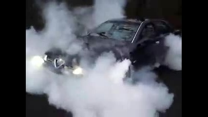 Alfa 166 burnout