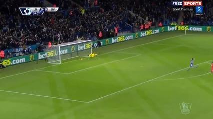 Вижте феноменалния гол на Варди срещу Ливърпул