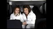Чалга в Таксито от момичетата които не вярват в дядо Коледа