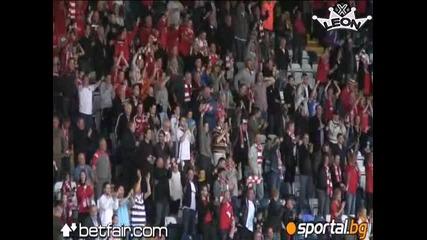 Клифтънвил 1:2 Цска - Страхотен гол на Томи Костадинов