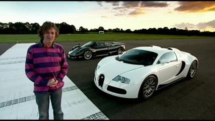 Top Gear - James May drives the Zonda F Roadster [hd]