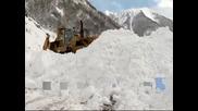 Тежки снеговалежи в Северен Кавказ