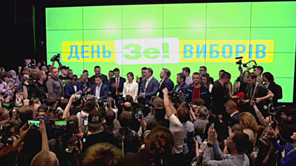 Ukraine: Zelenskiy takes presidency with 73 percent landslide according to exit polls