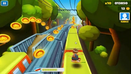 40 000 точки на Subway Surfers