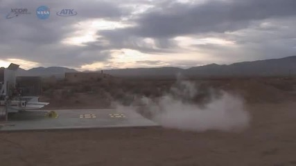 Nasa тества - двигател на метан Ракета
