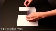 10 невероятни трикове с хартия