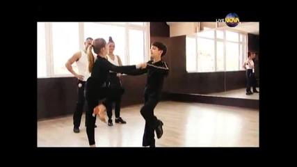 Dancing Stars - Петко и Яна визитка