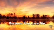 Because you love me - Jo Dee Messina Cover