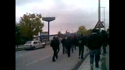 Ботев Пловдив по бул.българия
