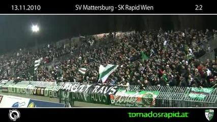 13.11.2010 Block West auswaerts in Mattersburg