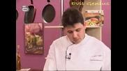 Бон Апети - Салата от спанак и домат конфи